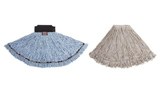 Maximizer™ Wet Mop's unique design delivers the industry-leading mop spread, providing 30% more floor coverage than the standard wet mop.