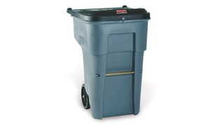 This Rubbermaid Commercial Shred It Garbage Can offers a comprehensive secure document solution to help meet HIPAA needs.