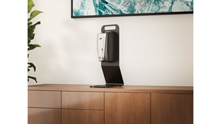 The AutoFoam Tabletop Station is a lightweight and portable solution for touch-free hand sanitizer dispensing anywhere.