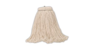 Bolt-On Rayon Finish Mop is a cut-end mop for finish applications.