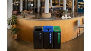 Sustain Containers are a decorative and adaptable recycling solution made to improve your facility's sustainability compliance.