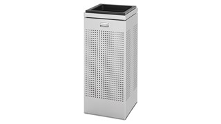 The sleek Silhouettes FGSCSU Square Sand Urn has a contemporary perforated pattern designed to seamlessly and beautifully blend with modern facilities and environments.