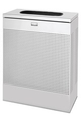 Silhouettes Large Rectangle 22.5 Gal Stainless Steel