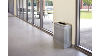 The sleek Silhouettes 25 Gallon FGSR14 Decorative Rectangle Indoor Waste Container has a contemporary perforated pattern designed to seamlessly and beautifully blend with modern facilities and environments. High-quality materials and craftsmanship ensure containers can withstand the rigors of everyday use.