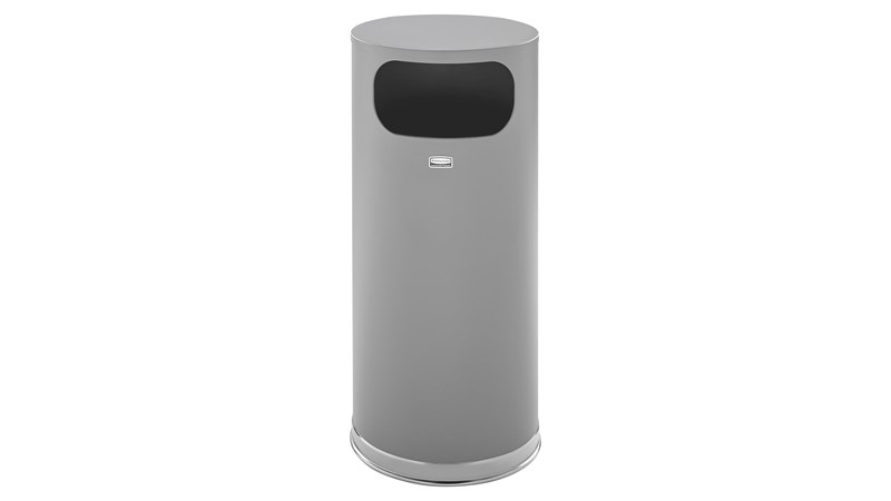 The Metallic Series 15 Gallon FGSO17 Indoor Waste Container is made from heavy-gauge, fire-safe steel with a durable, textured powder coat finish to help withstand the rigors of everyday use.