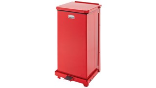 The Defenders® 12 Gallon FGST12 Square Indoor Step-On Container is an ideal waste container for hospitals, doctor's offices and other healthcare facilities.