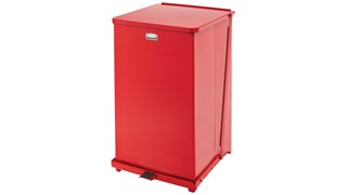 The Defenders® 25 Gallon FGST40 Square Indoor Step-On Container is an ideal waste container for hospitals, doctor's offices and other healthcare facilities.