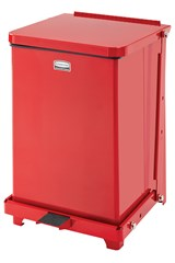 Defenders® Square Step Can 4 Gal Red