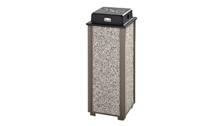 The Aspen Series FGR40 Decorative Outdoor Sand Urn is made from heavy-gauge, fire-safe steel designed to stand up to heavy use and harsh weather conditions while providing years of reliable outdoor service