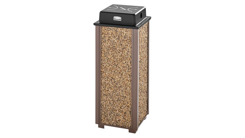 The Rubbermaid Commercial Weather Urn for Aspen and Dimension Series Receptacles is designed to withstand heavy, constant use and endure severe weather conditions.