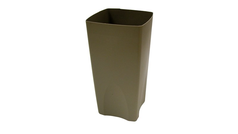 Rigid Liner for 35-gallon Plaza® Containers (FG9P9000 &FG9P9100). Leak-proof rigid liner keeps spills inside the container.