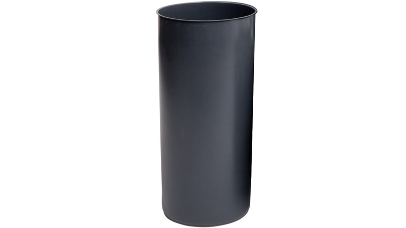 Rigid liner for any of the Rubbermaid Commercial 25-gallon Marshal® Containers (FG817088). Keeps contents safe from weather and debris. Helps maintain a clean container.