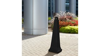 The GroundsKeeper® Smoking Management Receptacle is a classic, all-weather solution that holds large quantities of cigarette waste.