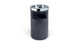 The Classic Smoking Urn with Metal Trash Liner and Metal Ash Tray Top is a simple smoking management solution that is perfect for lobbies and hallways.