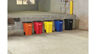 Expert-designed waste stream labels feature three visual cues, the recycling symbol, a stream icon and verbiage proven to increase recycling effectiveness. Kit includes labels designed for BRUTE® containers, horizontal Slim Jim® recycling lids,  Untouchable® containers, Rollout containers, and tilt truck placards.