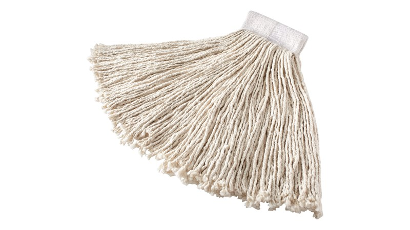 The Rubbermaid Commercial Cut End Cotton Mop is ideal for general purpose cleaning.