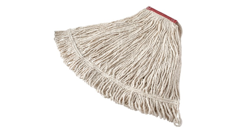 Value Pro Cut-End Cotton Mop is an economical solution for general-purpose floor cleaning or one-time use.