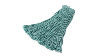 The Bolt-On Blend Mop is an economical solution for general-purpose floor cleaning or one-time use.