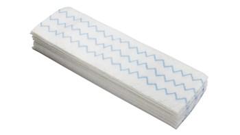 HYGEN™ 18 IN Disposable Microfibre Pad, White