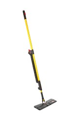 HYGEN™ PULSE™ Microfiber Mop Kit, Double Sided, Yellow