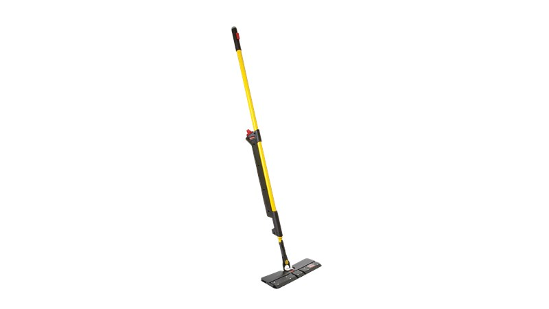 The Rubbermaid Commercial HYGEN™ PULSE™ Double-Sided Mop Kit combines dust and wet mopping with one convenient tool making floor cleaning faster than ever before.