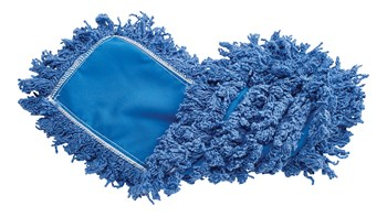 "Twisted-Loop Synthetic Dust Mop 18"" FGJ35200 is a premium prelaundered dust mop that provides maximum durability and optimal cleaning performance."