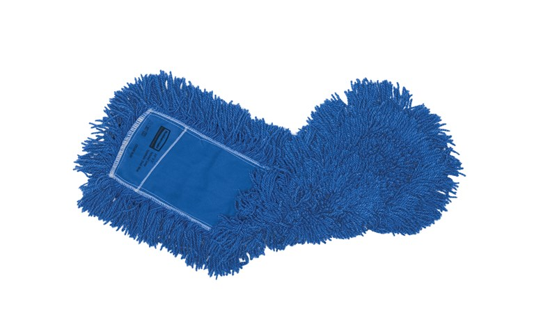 "Twisted-Loop Synthetic Dust Mop 24"" FGJ35300 is a premium prelaundered dust mop that provides maximum durability and optimal cleaning performance."