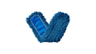 "Twisted-Loop Synthetic Dust Mop 48"" FGJ35700 is a premium prelaundered dust mop that provides maximum durability and optimal cleaning performance."