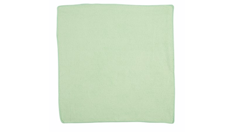 The Rubbermaid Commercial Microfiber Light Duty Cloth is a quality microfiber product designed for less-demanding users. It provides superior cleaning performance and germ removal compared to traditional cloths.