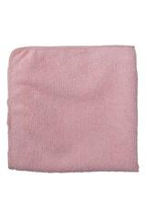 "12"" X 12"" Microfiber Light Duty Cloth, Pink"