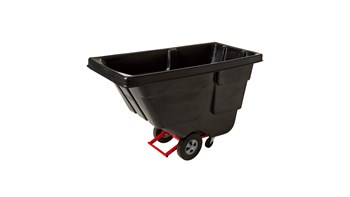 Durable rotational molded trucks handle heavy loads up to 450 lbs. with ease