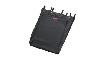 The Rubbermaid Commercial Premium Linen Hamper Bag fits the 30-Gal Premium Linen Hamper (FG630000BLA).
