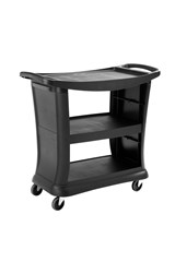 Executive Series Service Cart, Black