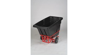 Durable rotational molded Forkliftable Tilt Trucks handle heavy loads up to 850 lbs. with ease