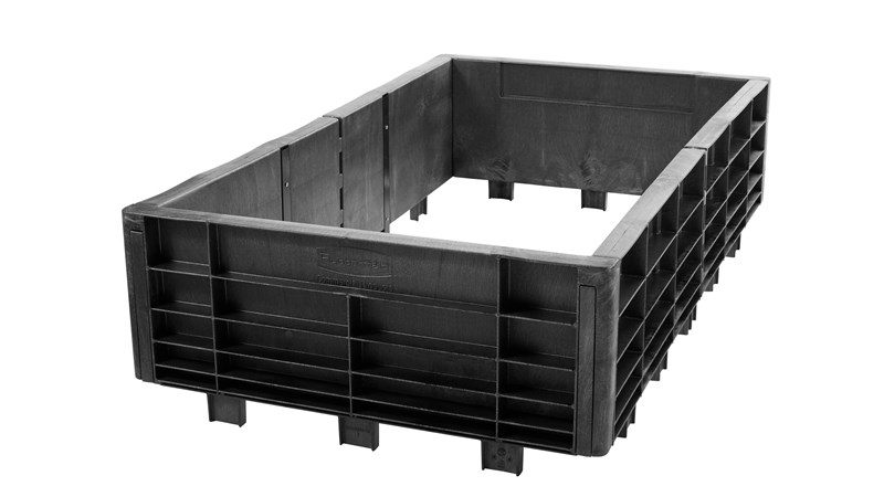 The Rubbermaid Commercial Heavy Duty Platform Truck Side Panel Package