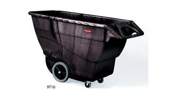 The Rubbermaid Commercial Tilt Truck, Structural Foam, offers industrial strength construction to transport heavy loads up to 2,100 lbs.