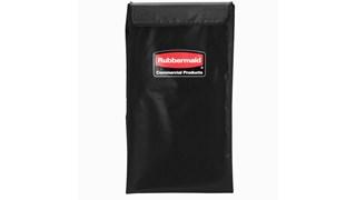 The Rubbermaid Commercial 1881782 4 Bushel Executive Series X-Cart bag, Black.