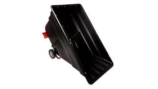 Durable rotational molded Forkliftable Tilt Trucks handle heavy loads up to 1,500 lbs. with ease