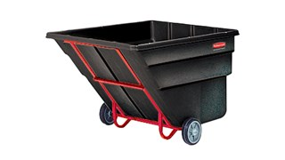 Durable rotational molded trucks handle heavy loads up to 1,900 lbs. with ease
