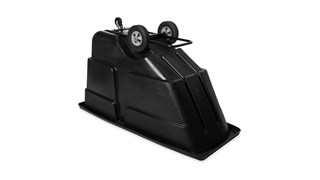 Durable rotational molded trucks handle heavy loads up to 600 lbs. with ease