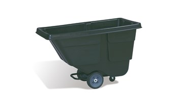 Durable rotational molded trucks handle heavy loads up to 300 lbs. with ease