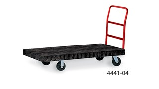 The Heavy-Duty Platform Truck is ideal for moving large, heavy, oversized loads efficiently throughout a facility with up to 2,500 lb. capacity.