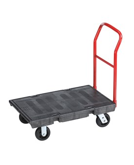 The Heavy-Duty Platform Truck is ideal for moving large, heavy, oversized loads efficiently throughout a facility with up to 1,000 lb. capacity.