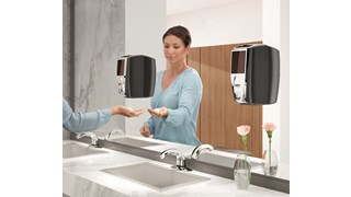 The AutoFoam Dispenser with LumeCel™ Technology is a touch-free dispenser that automatically delivers controlled amounts of soap or sanitizer to help reduce cross-contamination. LumeCel™ technology efficiently powers dispensers using only indoor light and eliminates the need to purchase, store, replace and dispose of alkaline batteries.