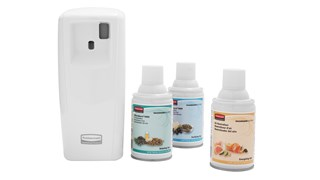 Microburst® 9000 aerosol odor control systems deliver a cost-effective, programmable solution with all the power and performance of standard dispensers.