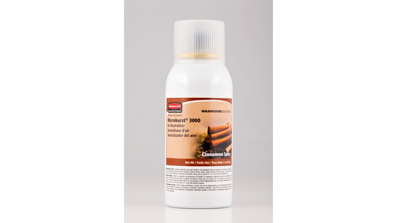 Microburst® 3000 refills feature high quality, fresh fragrances that last for 3000 sprays or up to 168 days.