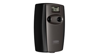 Microburst® Duet, a dual-fragrance odor control system, alternates between two complementary scents.
