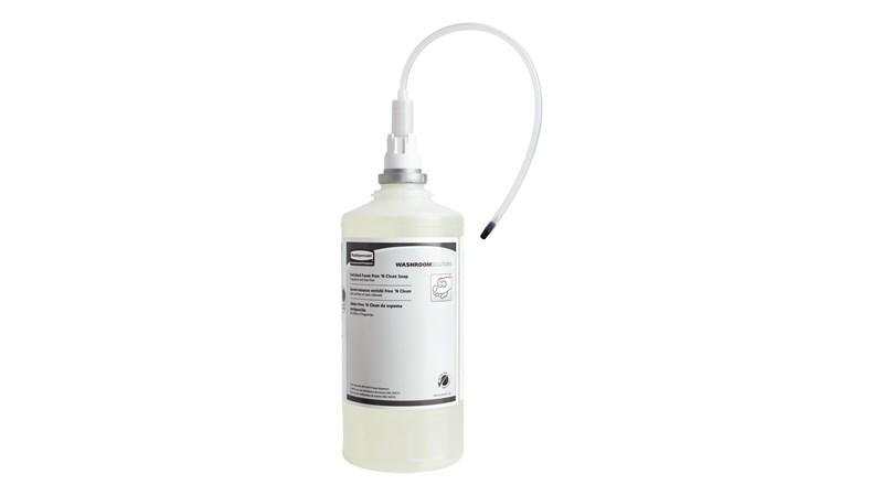 The OneShot® Dye & Fragrance Free Foam Hand Soap refill is for use in OneShot® Foam Dispensers.