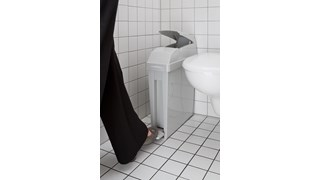 Designed to provide a safe and hygienic way to dispose of sanitary waste.