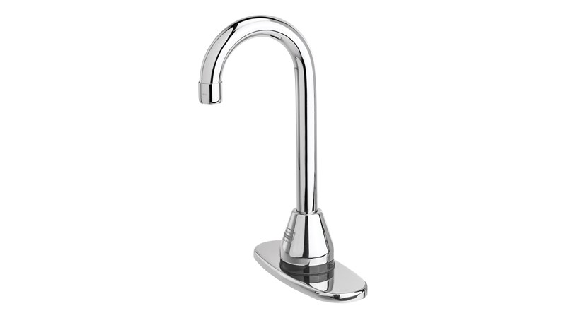 The Rubbermaid Commercial Auto Faucet® provides reliable touch-free activation promoting a cleaner and healthier environment.